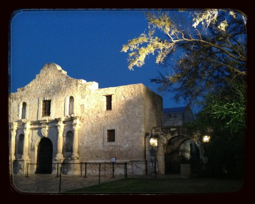 I can now remember The Alamo.